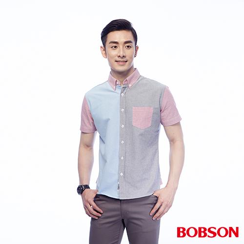 BOBSON 男款三色襯衫    ^(25049~01^)