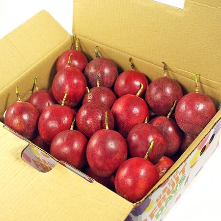 【鮮果日誌】埔里原生種百香果(2公斤)禮盒裝