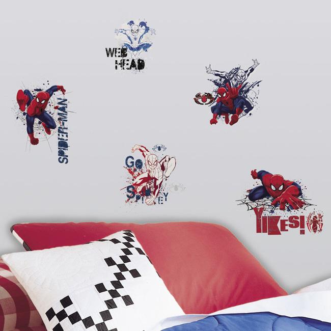 ~美國Roommates~童趣 壁貼_蜘蛛人RMK2170