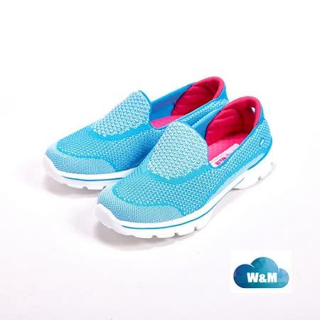W&M MODARE 舒適透氣 女鞋-藍(另有粉/黑)