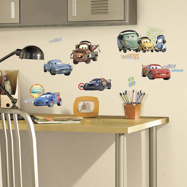 ~美國Roommates~童趣 壁貼_CARS~RMK1583