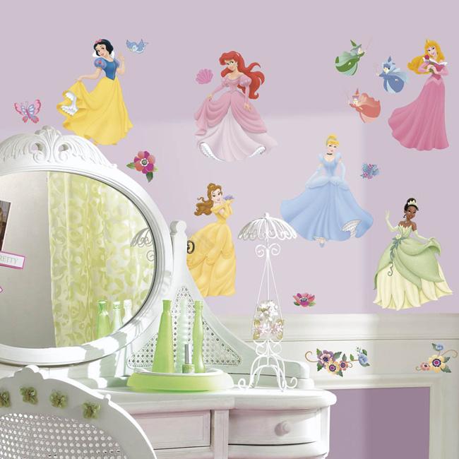 ~美國Roommates~童趣 壁貼_迪士尼公主RMK1470