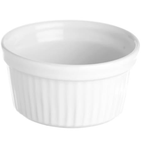 《EXCELSA》White白瓷布丁烤杯(11cm)