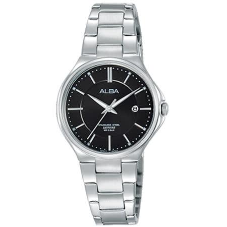 ALBA雅柏 簡單生活時尚女用不鏽鋼腕錶/28mm/VJ22-X226D