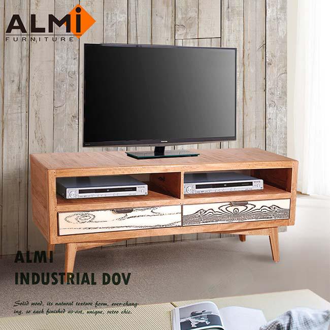 ~ALMI~DOCKER VINTAGE~TV 2 DRAWERS 雙抽電視櫃