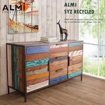 【ALMI】SYZ RECYCLED-SIDEBOARD 雙門三抽櫥櫃