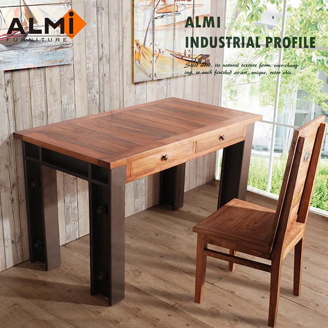 ~ALMI~DOCKER PROFILE~ TABLE CUISINE 工業風工作桌