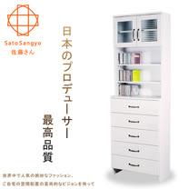 【Sato】DOLLY朵莉五抽雙門SMART置物櫃‧幅60cm