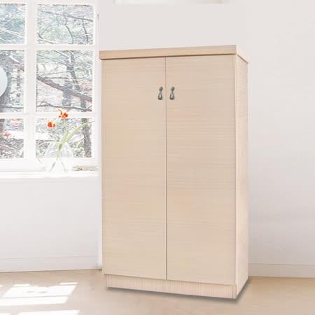 HAPPYHOME 恬靜開門3.5尺鞋櫃5U6-246-352