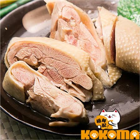 【極鮮配】霸王油雞腿(375G±10%/袋)(任選)