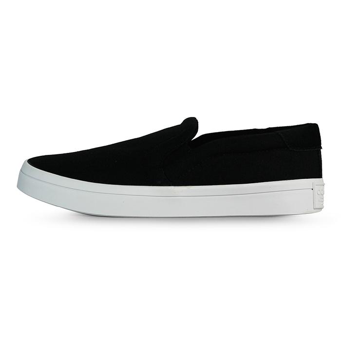 adidas 女 COURTVANTAGE SLIP ON W 愛迪達  復古鞋 ~ S7