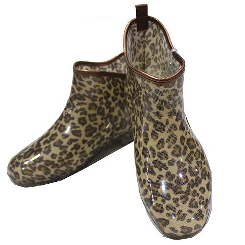 日本豹紋雨鞋