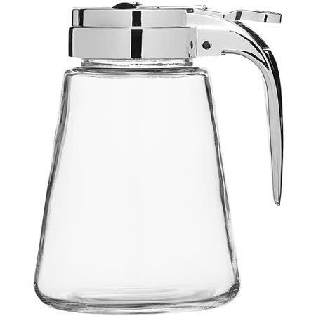 《KitchenCraft》輕鬆倒玻璃奶罐(330ml)