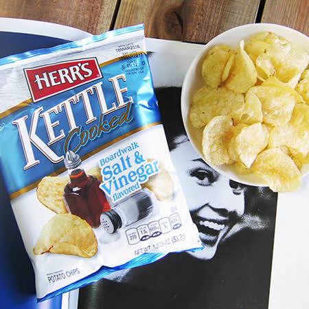 【HERR'S 賀氏】KETTLE 醋酸蝴蝶切洋芋片