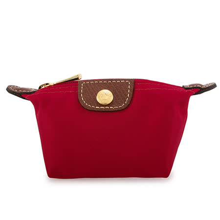Longchamp 迷你水餃零錢包-紅色
