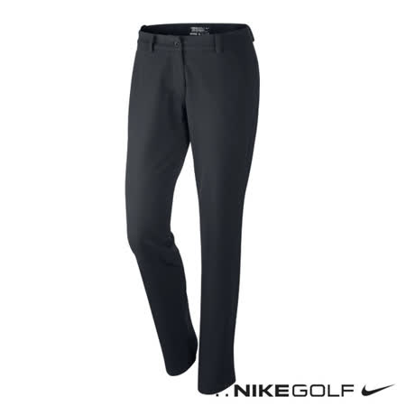 NikeGold運動休閒排汗高爾夫球女子長褲(黑)623013-010