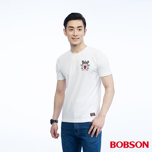 BOBSON 男款印圖上衣^(26015~80^)