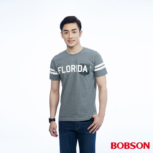 BOBSON 男款上印圖上衣^(26016~83^)