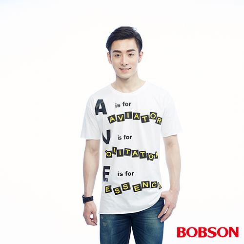 BOBSON 男款捲邊 上衣^(26032~80^)