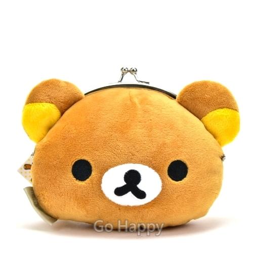 San~X~歡樂拉拉熊~斜背票卡零錢包