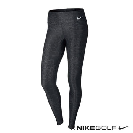 NikeGolf女子快速排汗運動休閒緊身內搭褲(深灰)693666-021