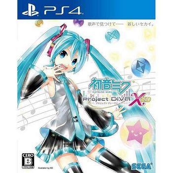 SONY PS4 初音未來 -Project DIVA- X HD -中文版