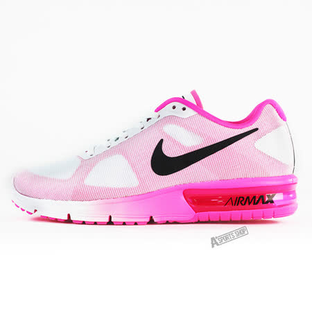 NIKE (女) WMNS NIKE AIR MAX SEQUENT 休閒鞋 粉紅-719916106