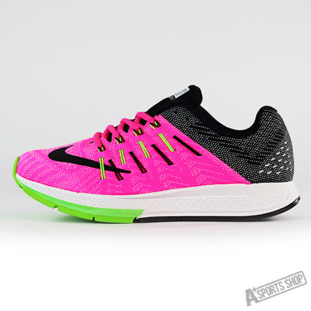 NIKE (女) WMNS NIKE AIR ZOOM ELITE 8 慢跑鞋 粉紅黑-748589600