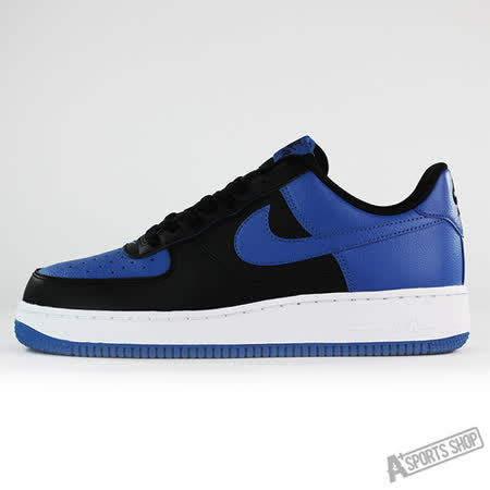 NIKE (男) AIR FORCE 1 07 休閒鞋 黑藍-820266010