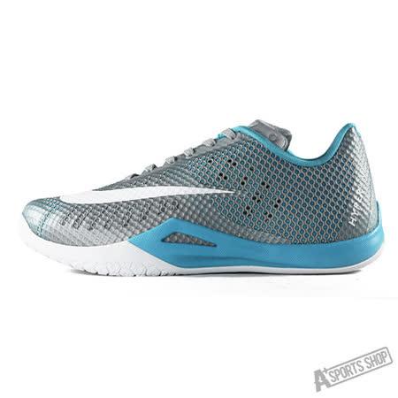 NIKE (男) NIKE HYPERLIVE EP 籃球鞋 灰藍-820284004