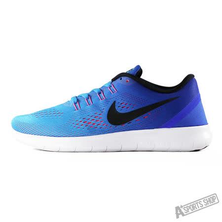 NIKE (女) WMNS NIKE FREE RN 慢跑鞋 藍-831509404