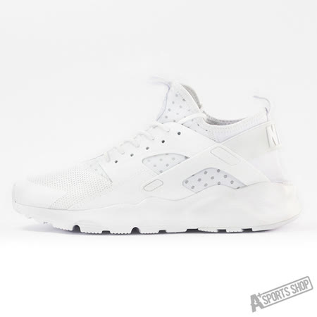 NIKE (男) NIKE AIR HUARACHE RUN ULTRA 休閒鞋 白武士 白-819685101