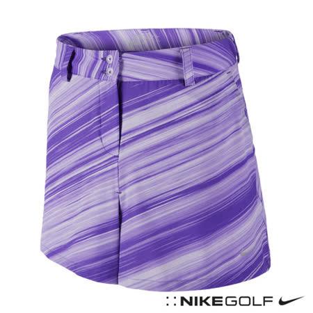 NikeGolf女子運動休閒條紋短裙(紫)623014-560