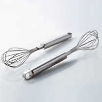 PUSH! 餐具廚房用品打蛋器手動攪拌棒雞蛋奶油攪拌和麵器烘培工具D59