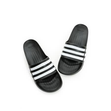 Adidas(男女)運動拖鞋 黑G15890