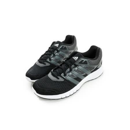 adidas(男)慢跑鞋 黑AF6688