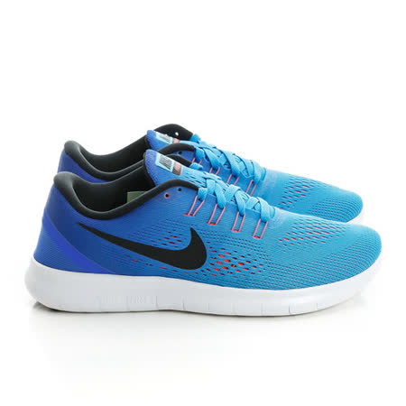 NIKE (女)赤足路跑鞋 藍831509404