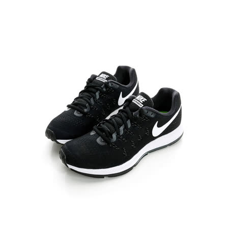 NIKE (女) 慢跑鞋 黑白831356001