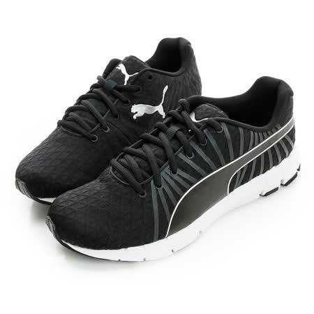 Puma (女) 慢跑運動鞋 黑白18862403