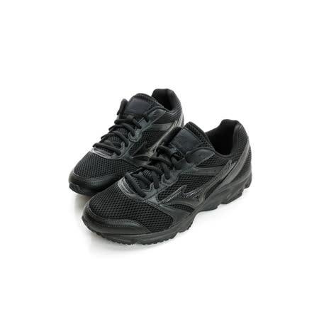 MIZUNO (男女)慢跑鞋 黑K1GA161409