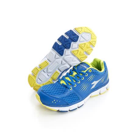 DIADORA (男) 慢跑鞋 藍DA5AMR2636