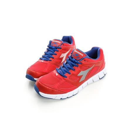 DIADORA (男) 超輕慢跑鞋 紅藍DA6AMR3002