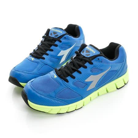 DIADORA (男) 超輕慢跑鞋 藍DA6AMR3006