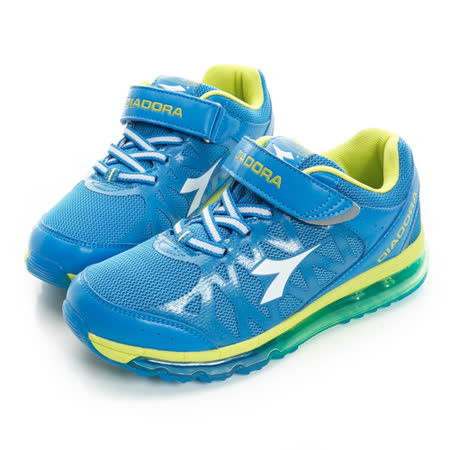 DIADORA(童) 慢跑鞋 藍DA5AKR2226