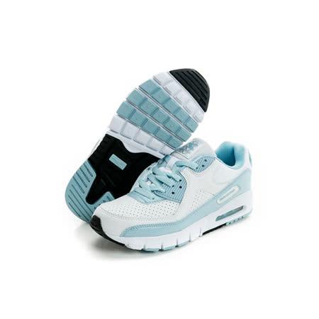 DIADORA (女) 慢跑鞋 白/藍DA4AWC6906