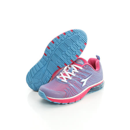 DIADORA (女) 氣墊慢跑鞋 淺紫粉DA5AWR2796