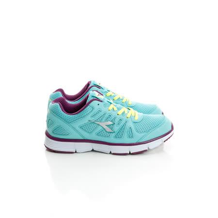 DIADORA (女) 慢跑鞋 淺綠紫DA5AWR2825