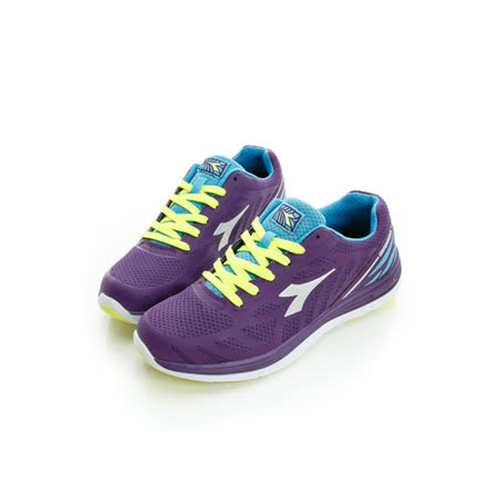 DIADORA (女) 休閒慢跑鞋 紫DA6AWR2387