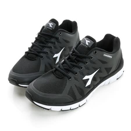 DIADORA (女) 慢跑鞋 黑白DA6AWR9830