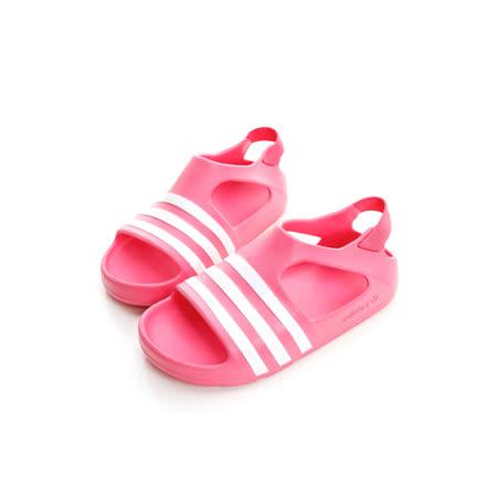 adidas (童) 涼鞋 粉紅S74735